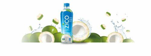 Zico Natural 100% Coconut Water Drink, No Sugar Added Gluten Free, 16.9 Fl Oz 1