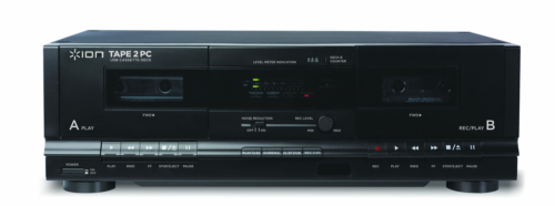 ION Audio Tape 2 PC | USB Cassette Deck Conversion System wi