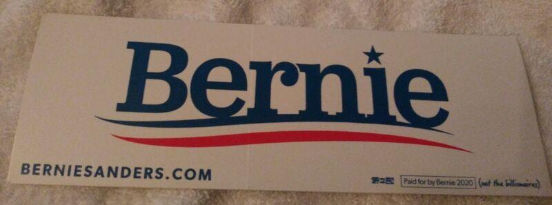 Bernie Sanders Vinyl Car Window Decal Bumper Sticker President 2020 Campaign