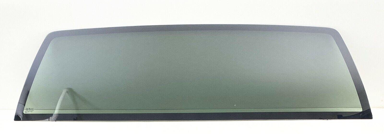 1999-2006 Chevy GMC Silverado Pickup Rear Window Back Glass NO HEATStationary