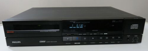 PHILIPS CD650 /07R CD PLAYER SINGLE DISC WORKS PERFECT SERVICED
