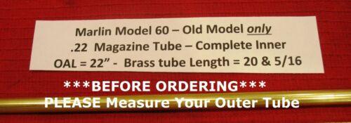 Marlin Model 60 .22 Inner Magazine Tube - for Pre 1975 Rifles Part # 607222