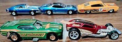 Hot Wheels Loose Lot 2 Super Treasure Hunts+3 Early 2000s treasure hunt All RR'S