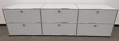 USM Haller 6-Drawer Console / Cabinet in Light Grey