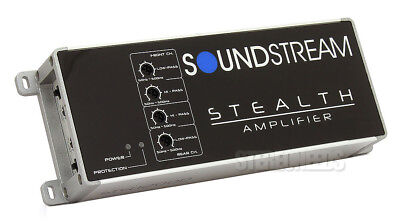 New Soundstream St4 1200D 1200 Watt Compact 4 Channel Class D Car Amplifier Amp