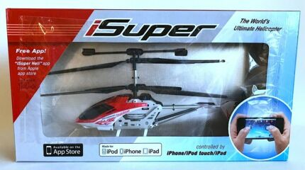 NEW iSuper RC Helicopter Radio Remote Control by your iPhone toy
