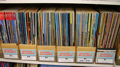 Modelling Magazine - MODEL BUILDER Magazine (Selection) --- Single Issues from 1971 ---> 1995