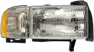 Headlight Assembly fits 1994-2002 Dodge Ram 2500,Ram 3500 Ram 1500 Ram 1500,Ram