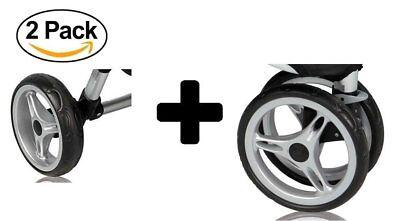 Baby Jogger City Mini Single 3 Complete Wheel Set, 2 Rear Wheels + 1 Front Wheel comprar usado  Enviando para Brazil