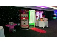 Photo Booths, Chocolate Fountains & Candyfloss Machines