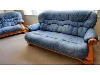 ***Leather Sofa Suite - 3+2+1***