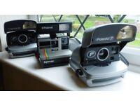 3 x Polaroid cameras all working.