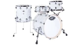 LIBERTY DRUMS - WHITE JAZZ / BOB SERIES DRUM KITS
