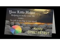Your Little Helper - cleaner, care, laundry, ironing, shopping etc