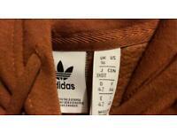 Brown Adidas Hoodie