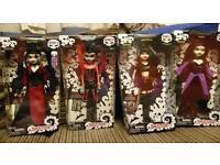 Begoth dolls x 4