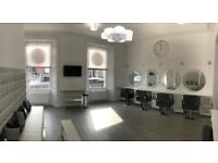 Chairs, nail desks and beauty treatment rooms to rent in new salon on South Tay Street Dundee