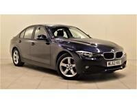 BMW 3 SERIES 2.0 318D SE 4d AUTO 141 BHP + AIR CON + AUX + BLUE (blue) 2013