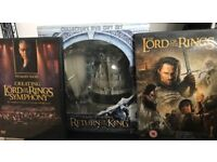 Lord of the Rings Collector's DVD Gift Sets