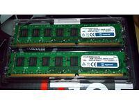 8GB DDR3 (2x4GB) 1333mhz Desktop Ram