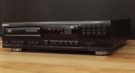 SONY CDP-M302 High Density hifi compact disc CD Player