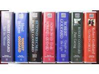 Robert Goddard unabridged audio cassettes.