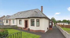 Cumnock - 2 Bedroom Semi-Detached Bungalow with Conservatory, Driveway and Garage