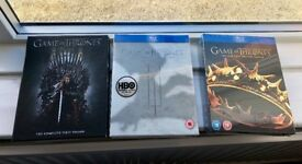 game of thrones series 1,2,3