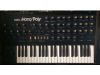 Korg Monopoly Synthesizer with manual