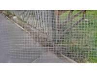 Galvanised Metal Mesh for garden fence or chicken coop or rabbit run or dog puppy pen etc