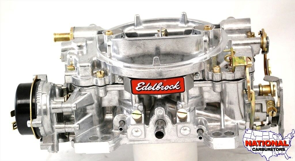 Edelbrock Carburetor 600 CFM Electric Choke Factory