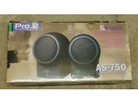 Pro 2 AS-750 speakers new in box