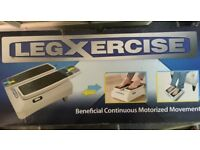 Legxercise machine - excercise your legs while sitting down