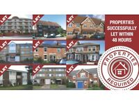 1,2,3 BED PROPERTIES REQUIRED.GUARANTEED RENT FOR UP TO 5 YEARS- RB ESTATES 0118 9597788