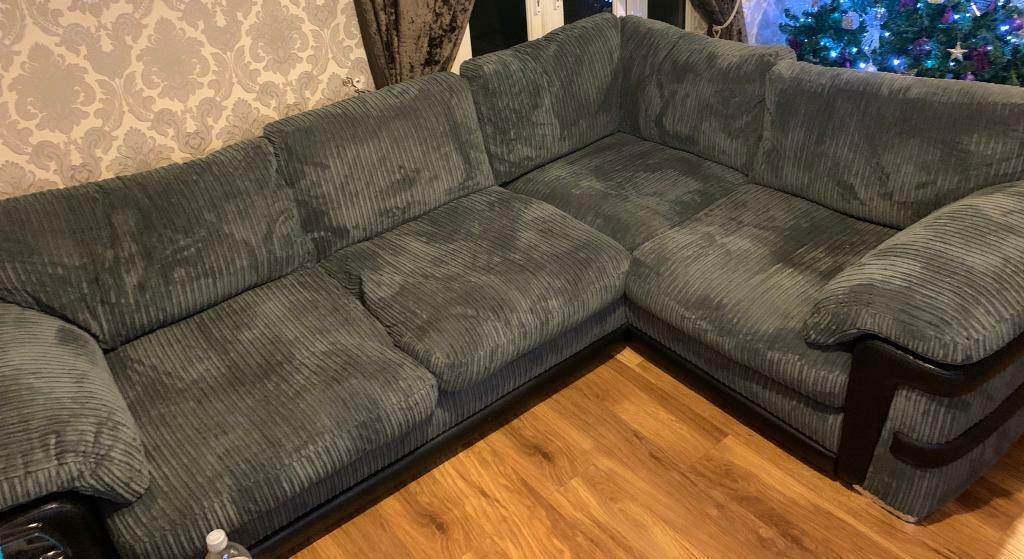Harvey S Ashmore Corner Sofa New In