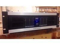 Stageline STA-150 6 channel pro power amplifier 960W professional studio PA DJ equipment
