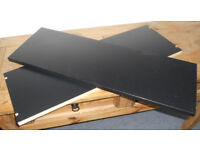 Extra Shelves for 80cm Ikea Billy Bookcase - 2 Black, 1 Oak - £3 each