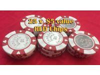 Poker Chips For Sale