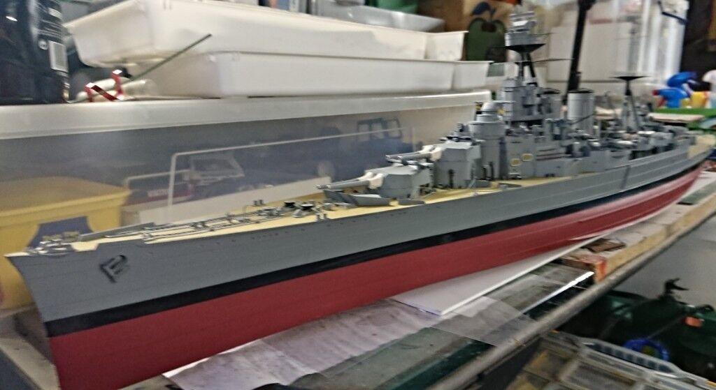 SCALE MODEL OF HMS HOOD 1-200 SCALE | in Newcastle, Tyne and Wear | Gumtree