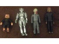 Doctor who x 4 figures collection