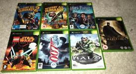 Bundle of original Xbox games