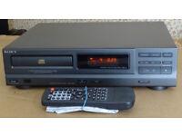 SONY CDP-MI8 MIDI-SIZED CD PLAYER WITH REMOTE