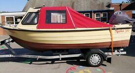Shetland Alaska 500 Fishing Boat