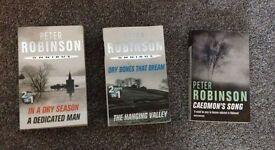 Peter Robinson Triple Bill