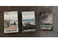 Peter Robinson Triple Bill