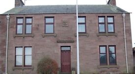 One bedroom ground floor flat in Forfar with double glazing, gas central heating and garden