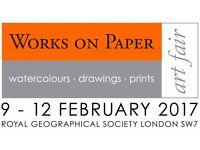 Paid Internship at prestigious London Art Fair - February 2017