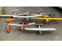 Radio controlled model planes