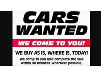Cars vans ((( WANTED )))50£ 1000£