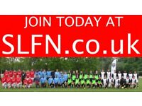 Teams looking for players, find football near Fulham, join football team near Fulham. ah2h2